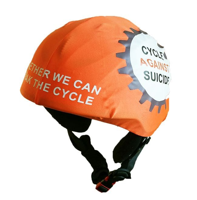 cycle against suicide helmet cover