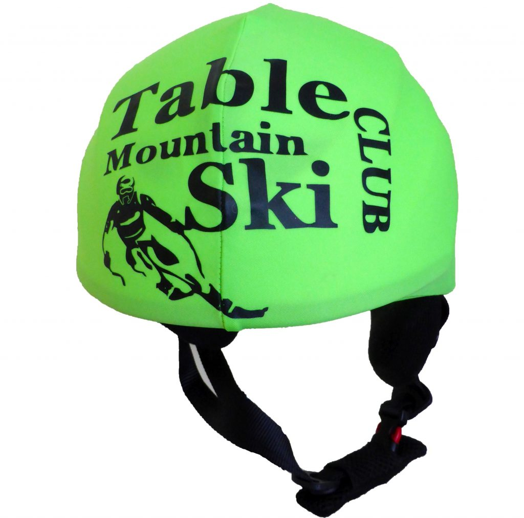 table mountain ski club helmet cover