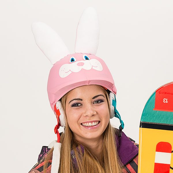 bunny helmet cover model