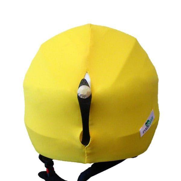 smiley helmet cover back