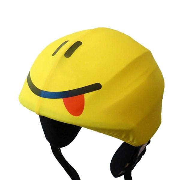 smiley helmet cover side
